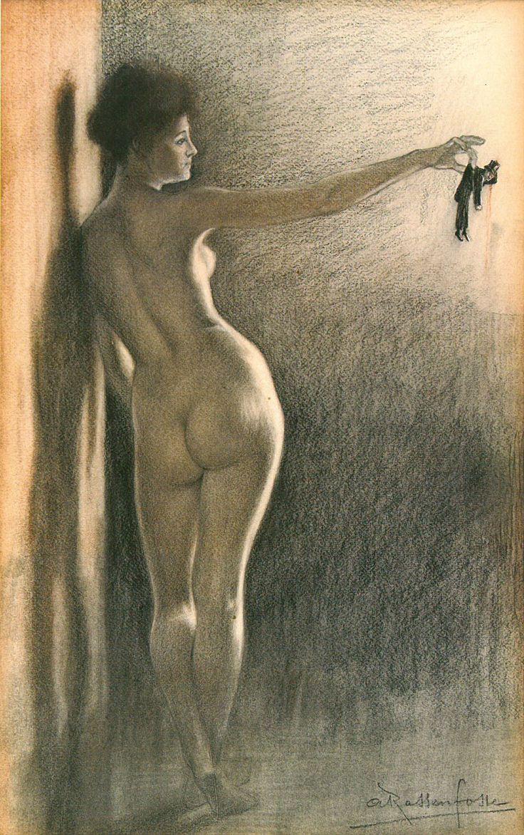 1898 rassenfosse-illustration La femme et le Pantin livre pierre Louis