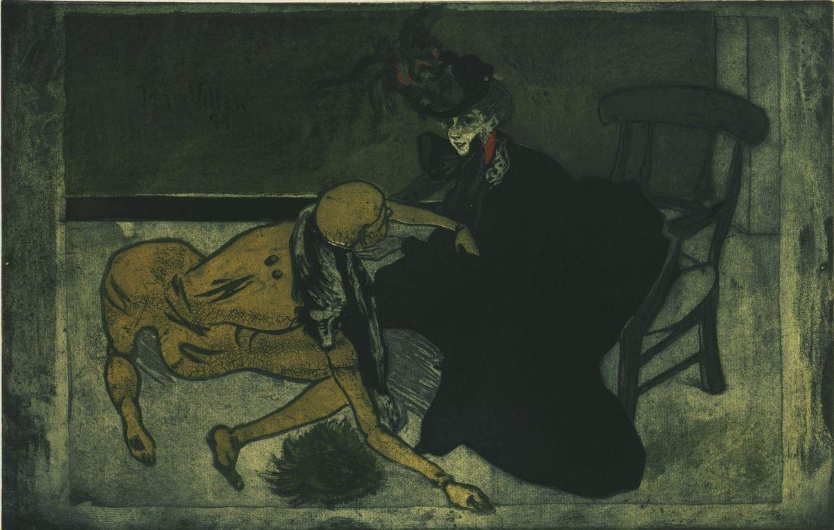 1899 Femme et mannequin jacques Villon  moma