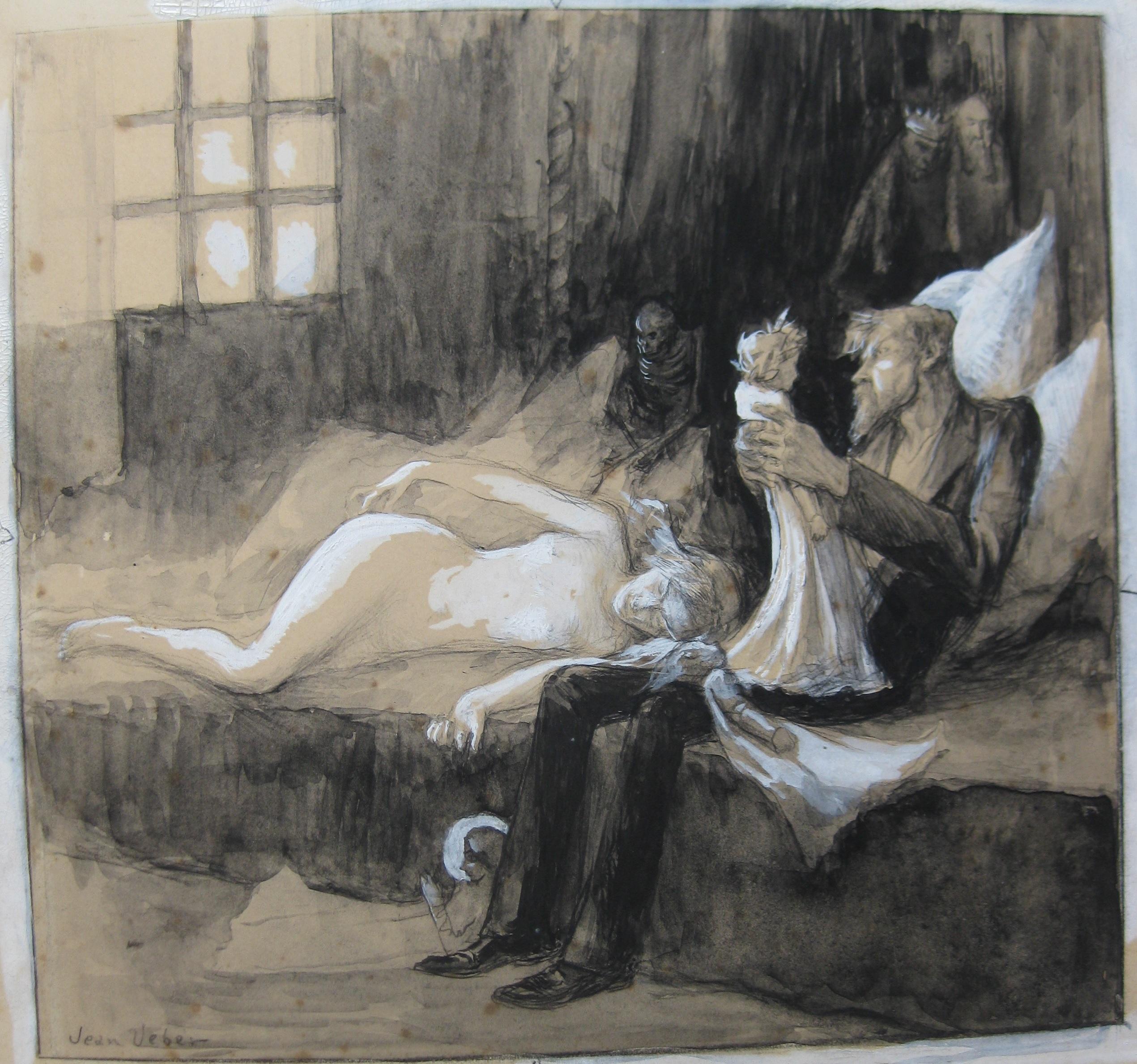 1899 Jean Veber Illustration pour l'hom