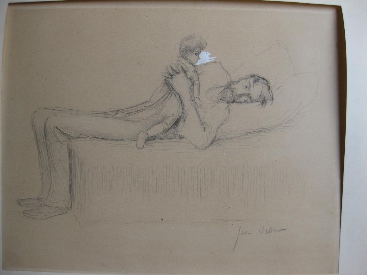1899 Jean Veber Illustration pour l'homme-aux-poupees 2