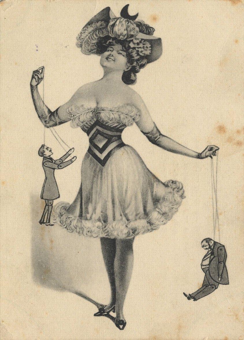 1900 carte postale