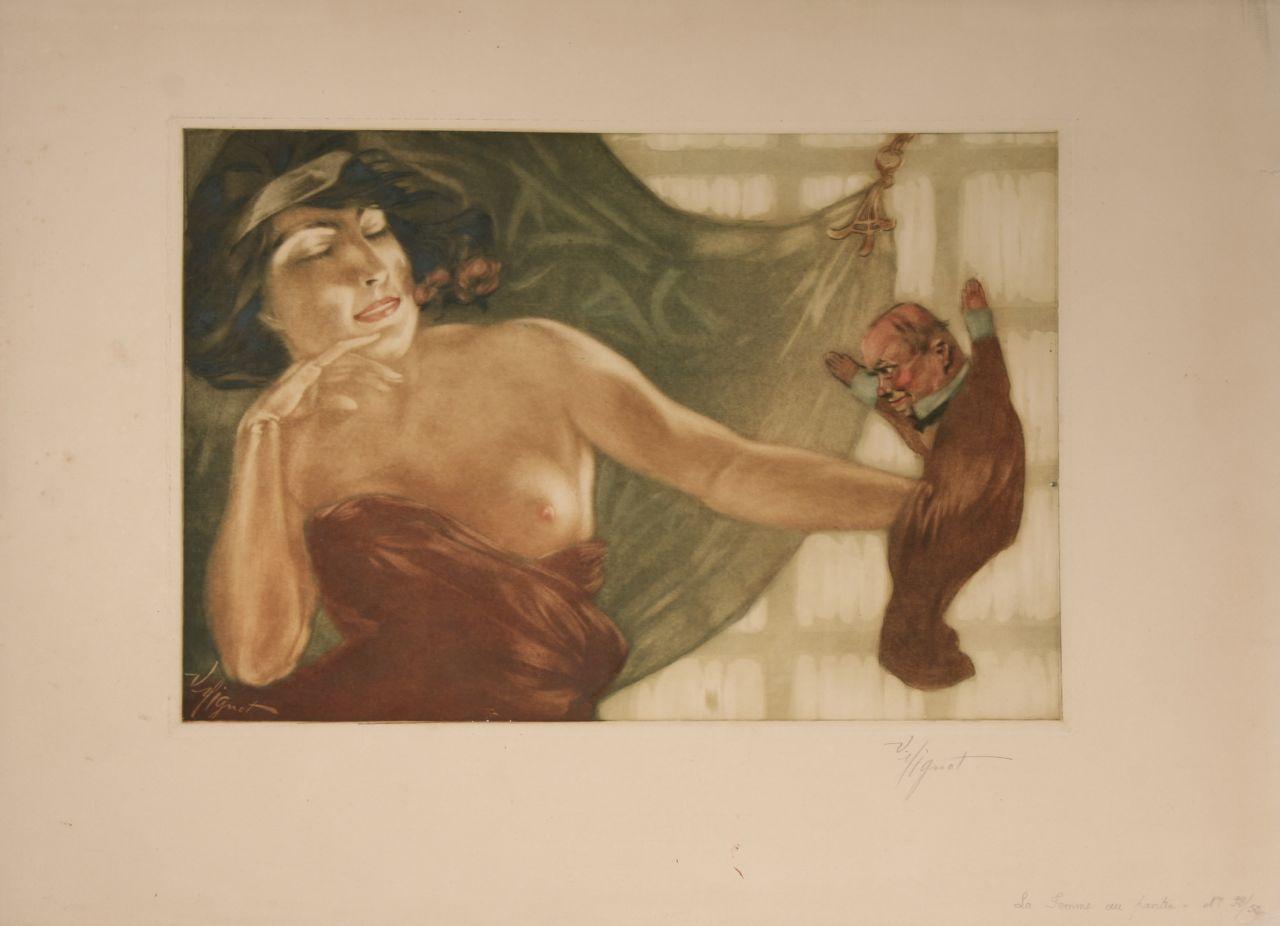 1904 Victor Mignot La Femme au Pantin