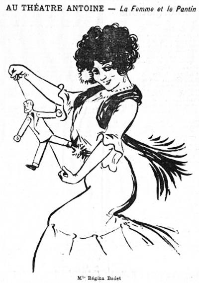 1910-12-09 Regina Badet au theatre Antoine