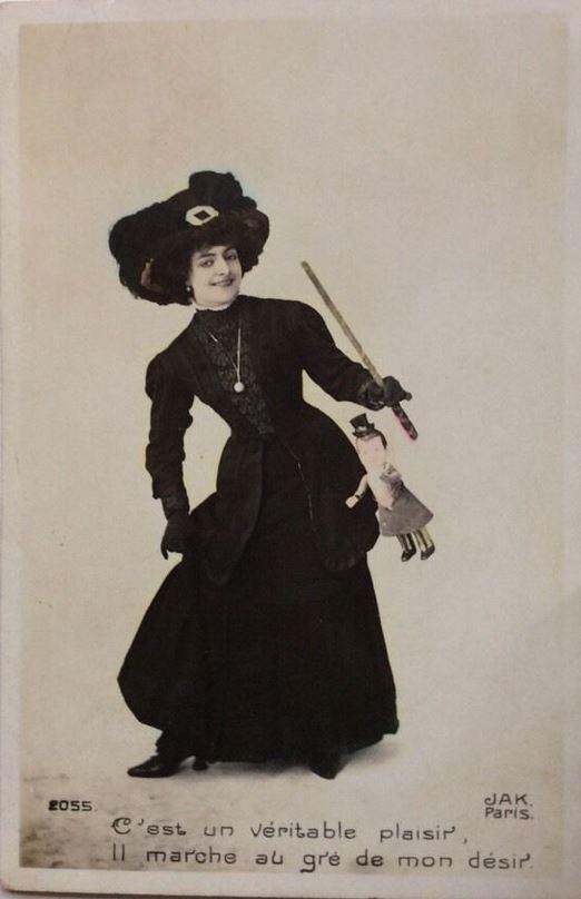 1910 ca Carte postale