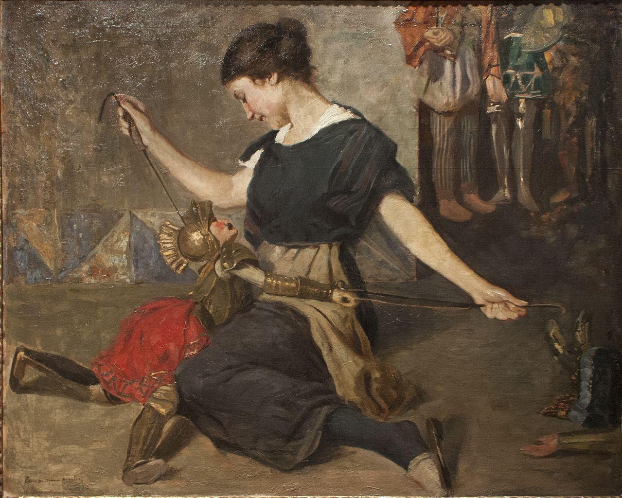 1912 De Maria Berghez Ettore, Rinaldo e Armida Galleria d'Arte Moderna, Palermo