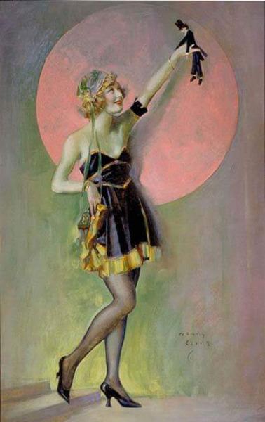 1917 Marion Davies by Henri Clive Ziegfeld Follies