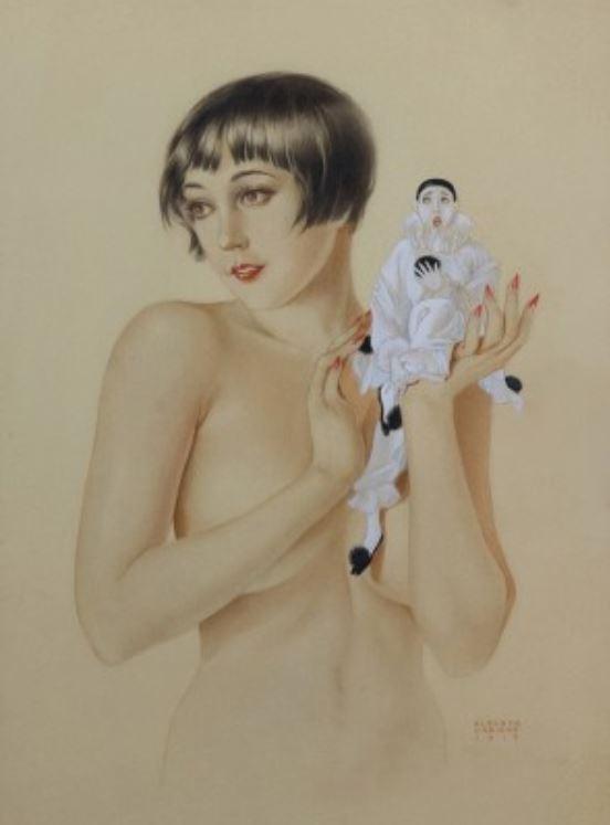 1919 Vargas Bessie Love