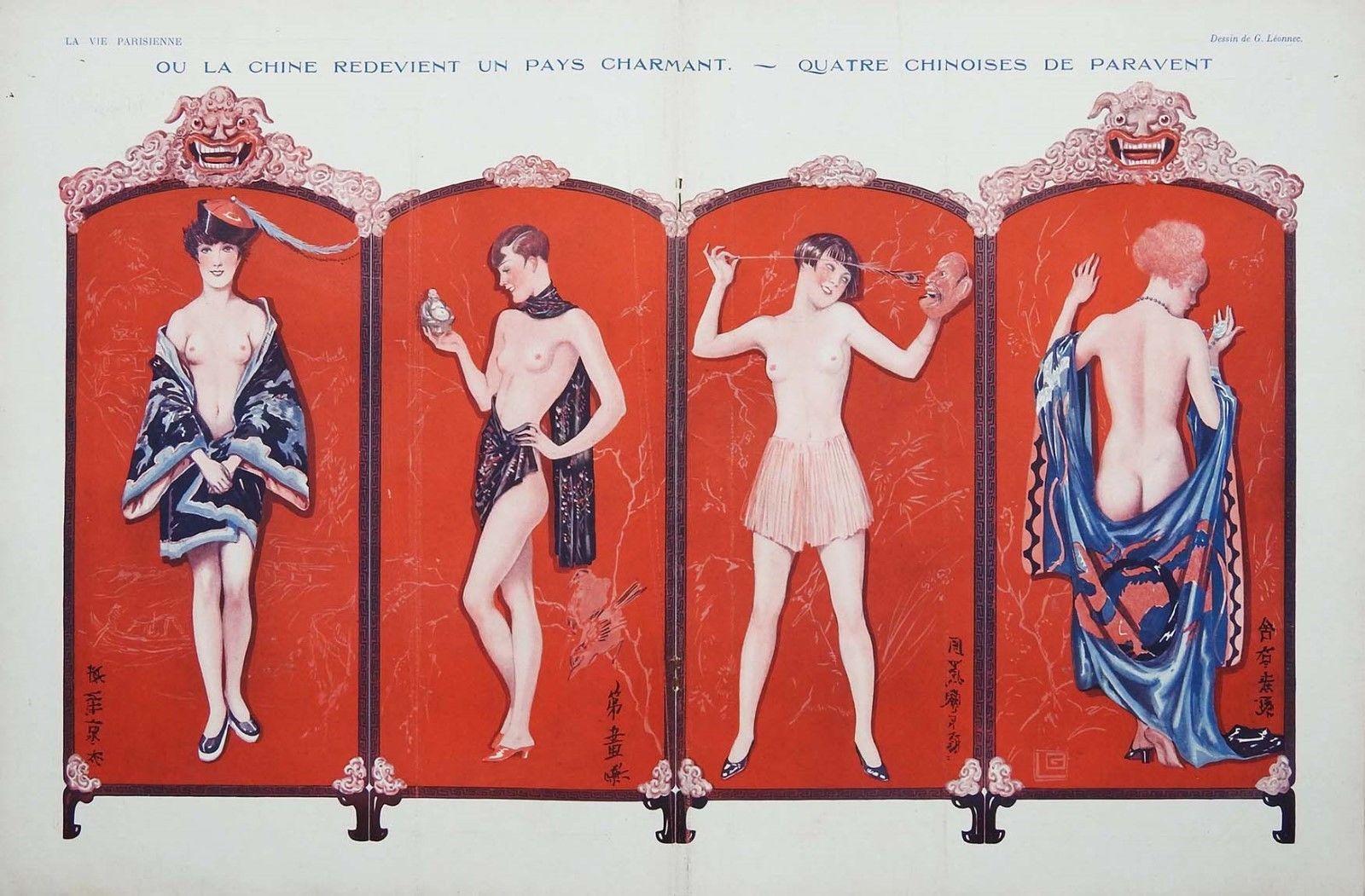 1920 Leonnec-paravent-08-1