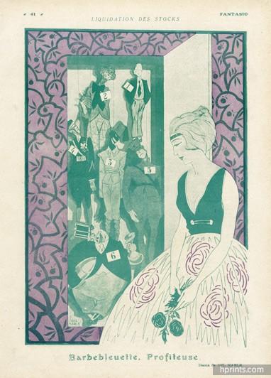 1920-del-marle-barbebleuette-profiteuse-puppets-hprints-com