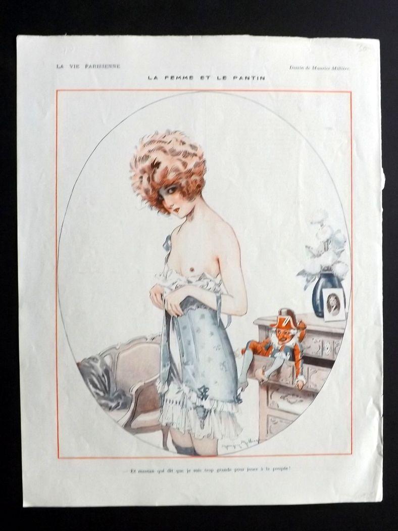 1922 Milliere La-Vie-Parisienne-La-Femme-et-le-Pantin