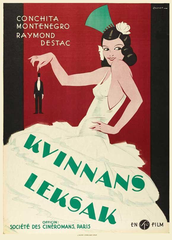 1928 LA FEMME ET LE PANTIN Conchita Montenegro Raymond Destac