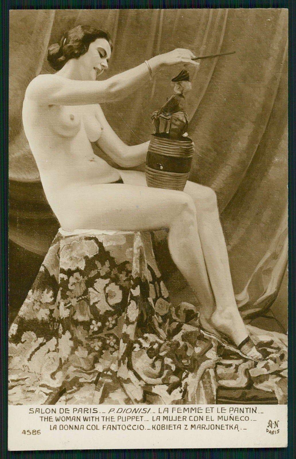 1931 ou 36 Pierre Dionisi La femme et le Pantin Paris