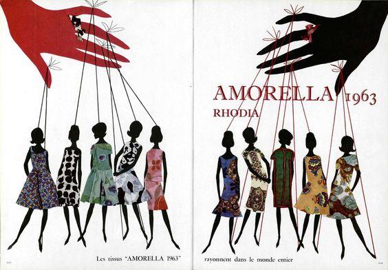 1963 Amorella Rhodia
