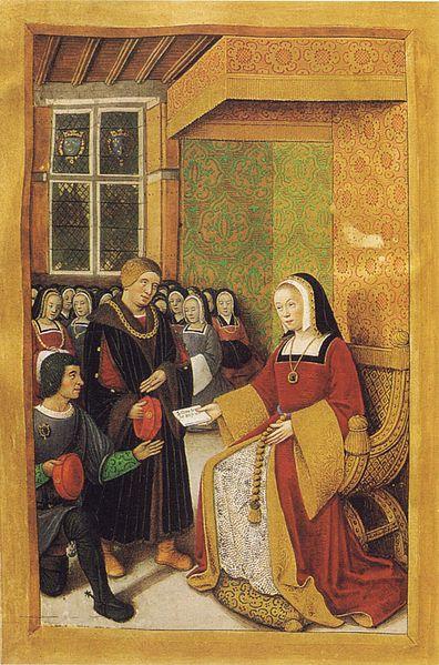 Anne-de-Bretagne-écrit-à-Louis-XII-Épitres-de-poètes-royaux-folio-40v-Fr-Fv-XIV-8-BNR-St-Petersburg