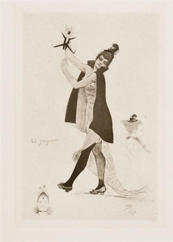 Armand Rassenfosse le joujou 1892