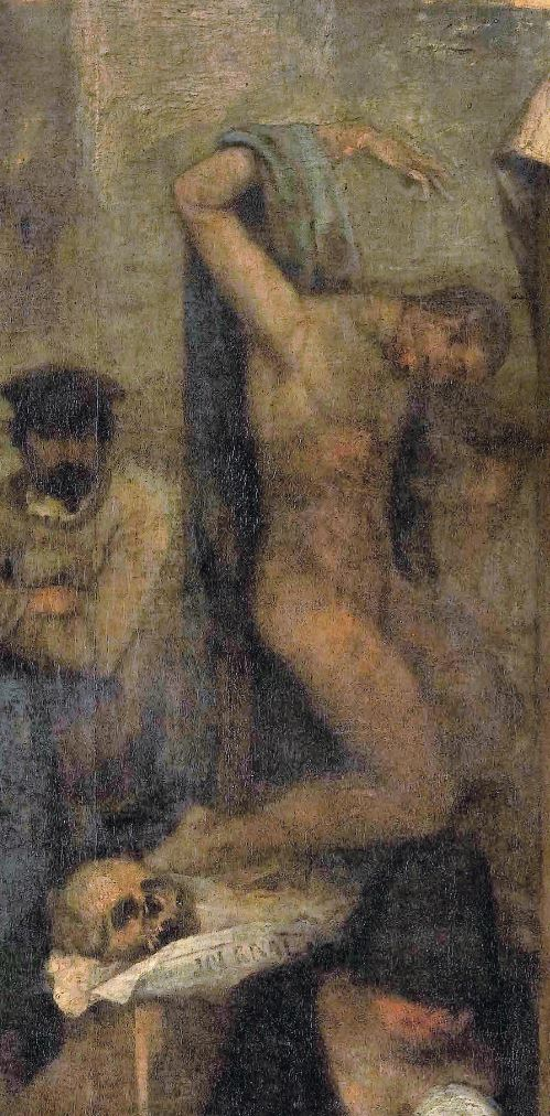 Courbet_LAtelier_du_peintre 1855 Orsay detail mannequin