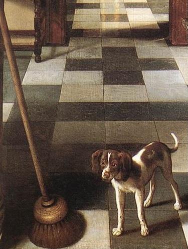 Hoogstraten_corridor_chien_balai