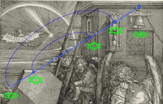 Melencolia (c) Philippe Bousquet Alignement 1 interpretation