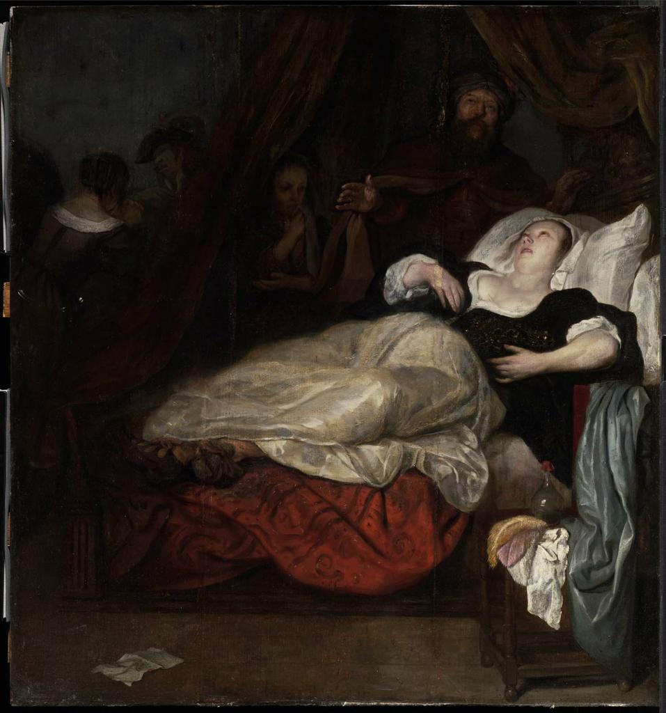 Metsu Femme en agonie ou La mort de Sophonisbe Museum of Fine Arts, Boston
