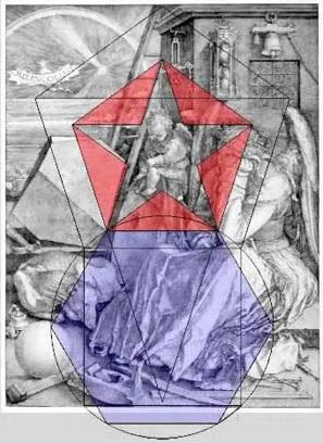 melencolia I pentagrammes