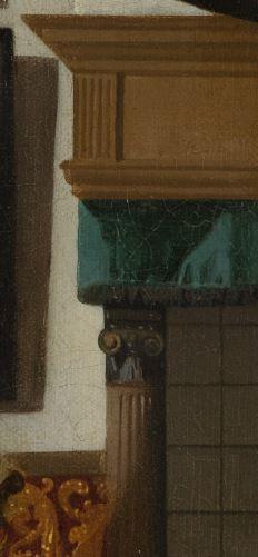 Vermeer Johannes The_Loveletter cheminee