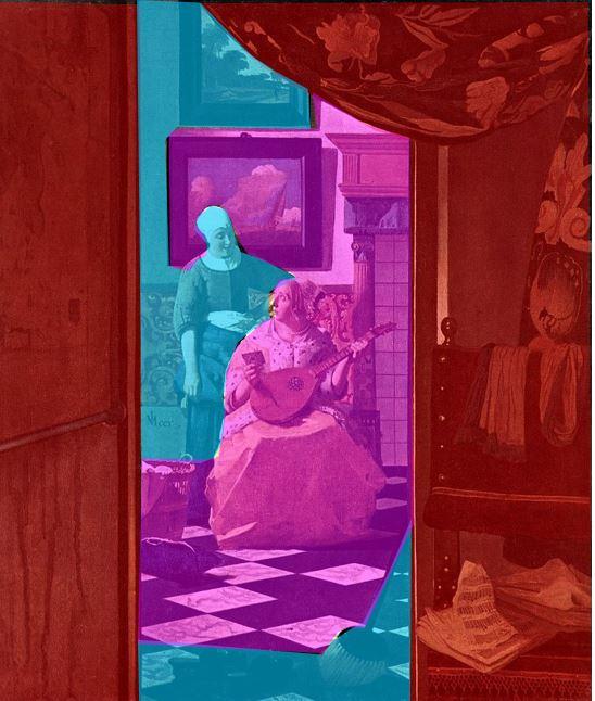 Vermeer Johannes The_Loveletter_composition