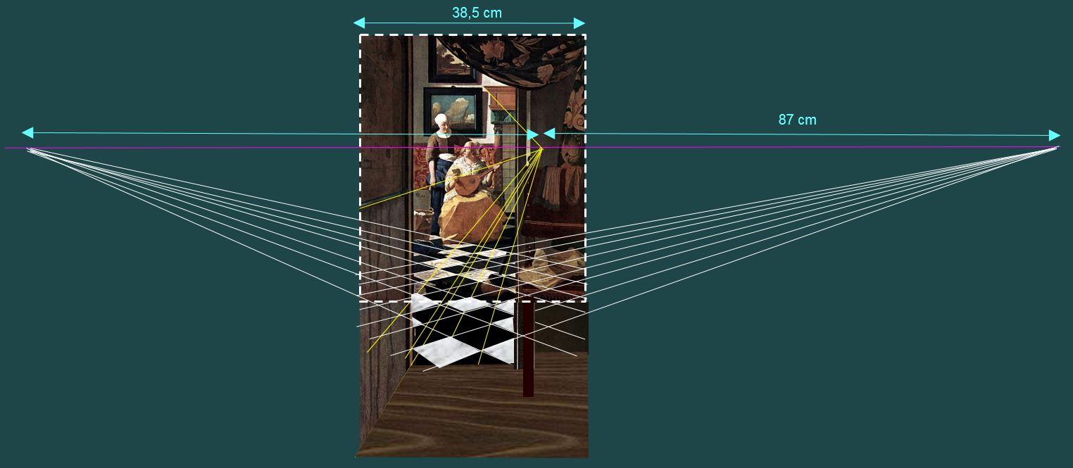 Vermeer Johannes The_Loveletter_perspective