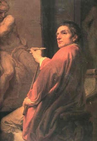 Autoportrait Domenico_Corvi 1775 ca Coll privee