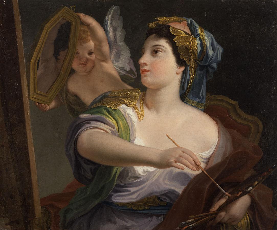 Domenico Corvi La Peinture 1764 Walters art museum baltimore