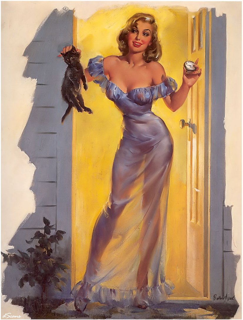 Joyce Ballantyne Out You Go (Me and My Shadow) 1955 ca