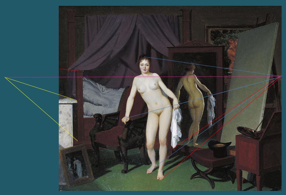 model-in-the-studio-cercle-de-eckersberg-perspective