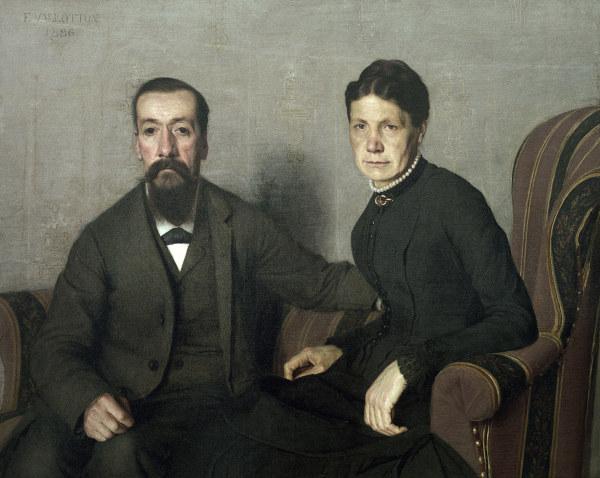 Felix Vallotton, Eltern des Kuenstlers - Felix Vallotton / Parents of the Artist - Vallotton, Felix , peintre et graphiste