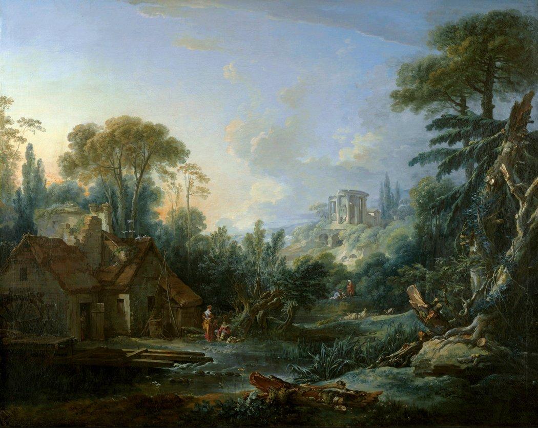 boucher-1740-paysage-avec-un-moulin-kansas-city-the-nelson-atkins-museum-of-art-bis