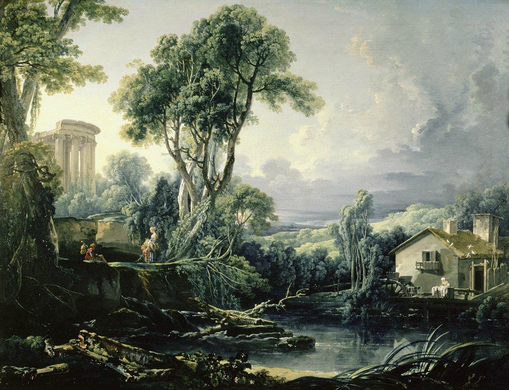 boucher-1743-paysage-avec-un-moulin-barnard-castle-the-bowes-museum-co-durham-bis