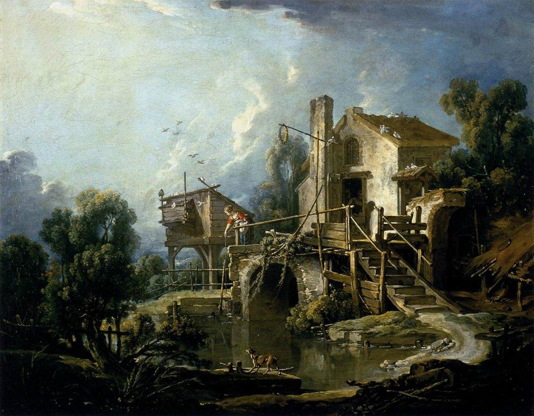 boucher-1750-1760-le-moulin-de-quiquengrogne-a-charenton-musee-orleans-bis