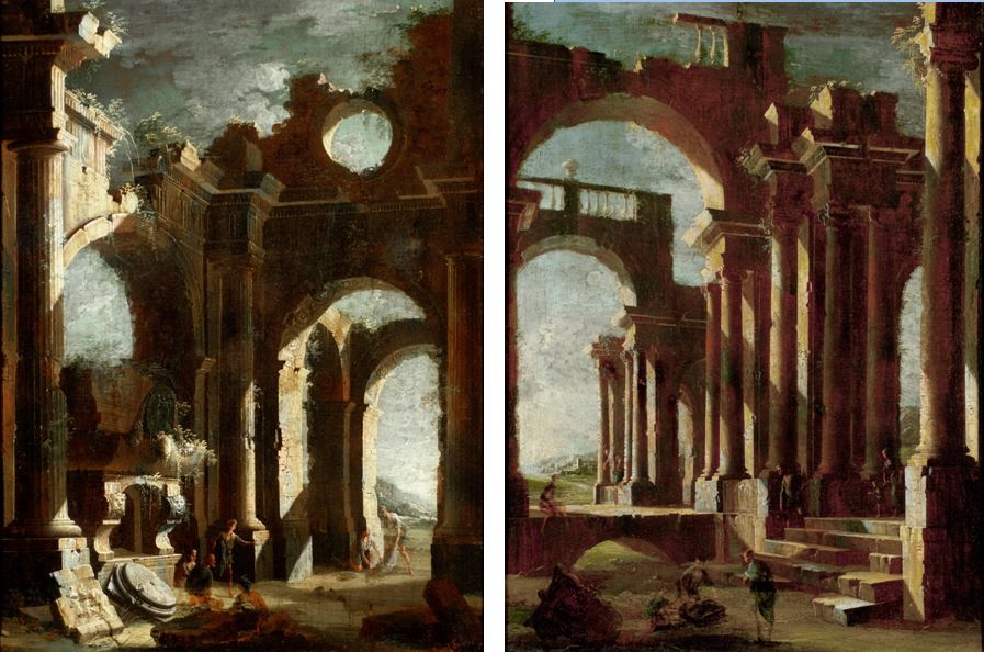 coccorante-pair-of-architectural-capricci-with-figures-before-a-sarcophagus-and-figures-in-a-ruined-arcade-1