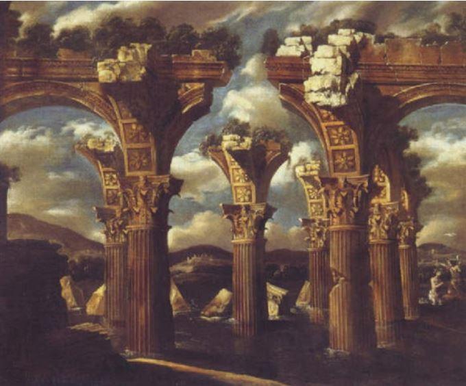 gennaro-grecco-colonnes-en-ruine