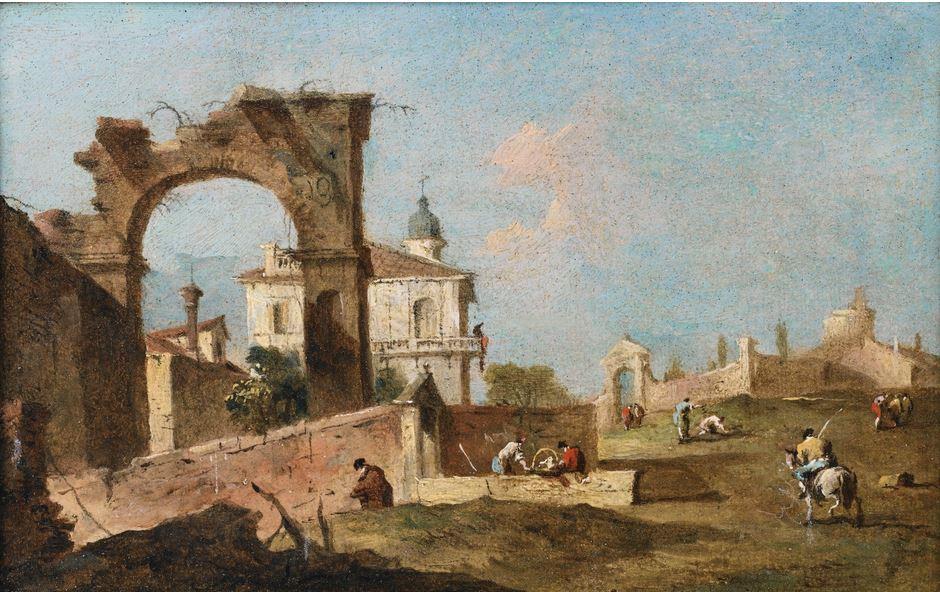 guardi-1785-ca-capriccio-avec-un-arc-coll-priv