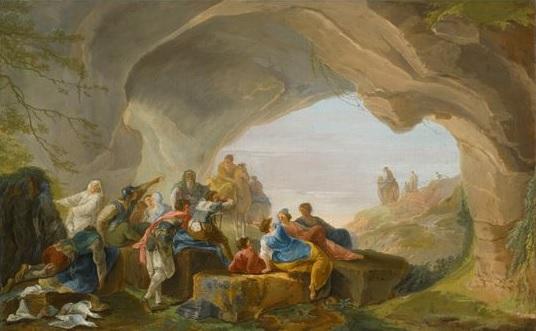 hubert-robert-1754-60-roman-figures-in-a-cave