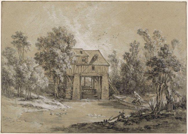 oudry-paysage_avec_un_moulin-louvre