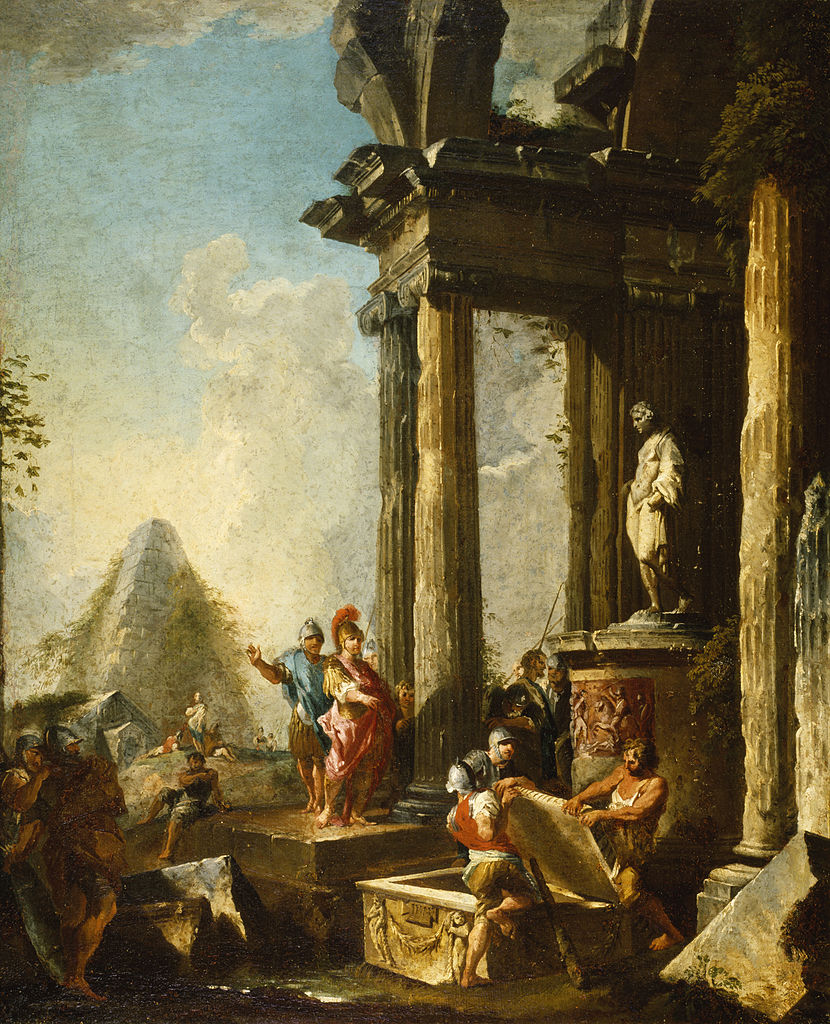 panini-1718-19-alexander-the-great-at-the-tomb-of-achilleswalters-art-museum-baltimore
