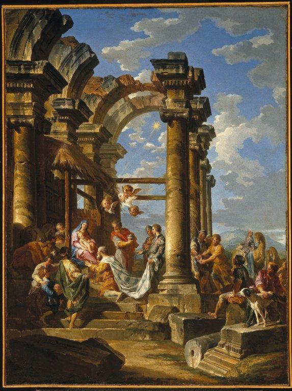pannini-1753-l-adoration-des-mages-Brooklin Museum