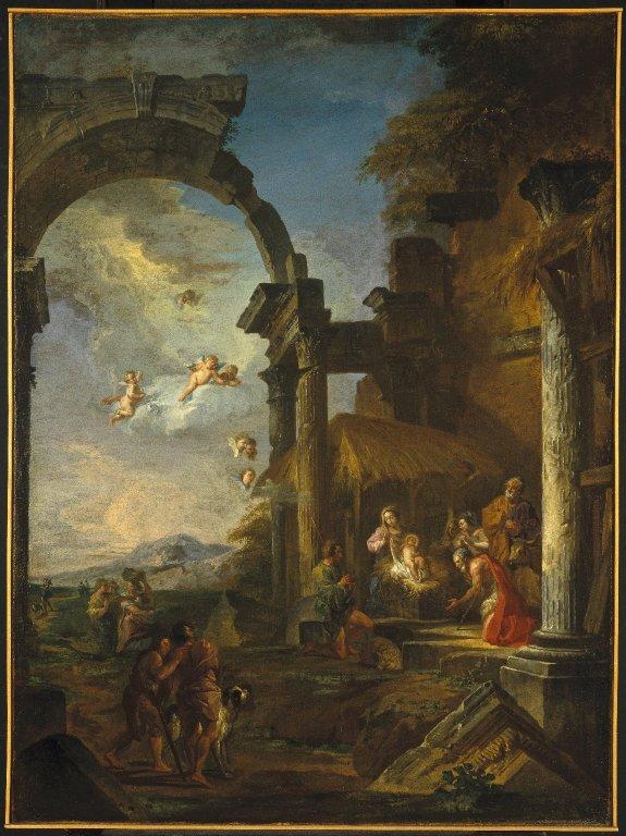 pannini-1755 l-adoration-des-bergers-Brooklon Museum