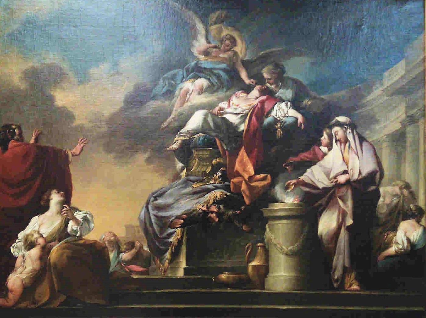 Anonyme 1750-60 Mort de Didon Musee de Nancy