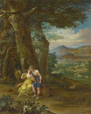 Eglon_van_der Neer 1698 Schaferszene Staatsgalerie im Neuen Schloss Bayreuth