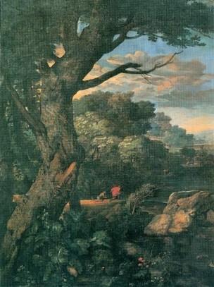 Eglon_van_der Neer 1700 Mountainous forest landscape Schwerin Museum