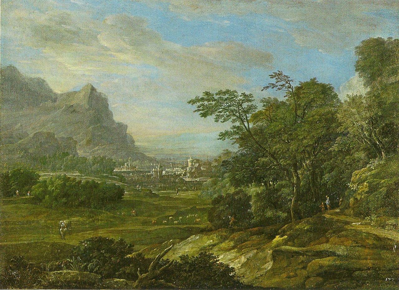 Eglon_van_der Neer 1702 Gebirgslandschaft Staatsgalerie im Neuen Schloss Bayreuth