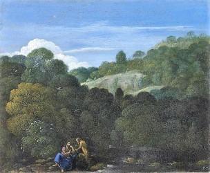 Eglon_van_der_Neer 1698-1703_Landschaft_mit_Versuchung_Christi_Alte Pinakothek Munchen