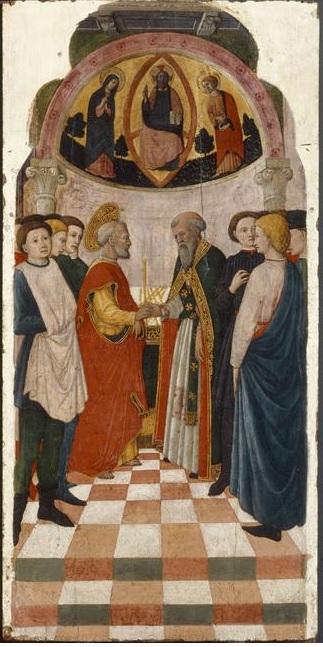 Francesco de Rimini 1440-50 Louvre Paris A saint Joseph et les prétendants