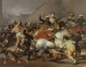 Goya 1814 El_dos_de_mayo_de_1808_ca_Madrid Prado